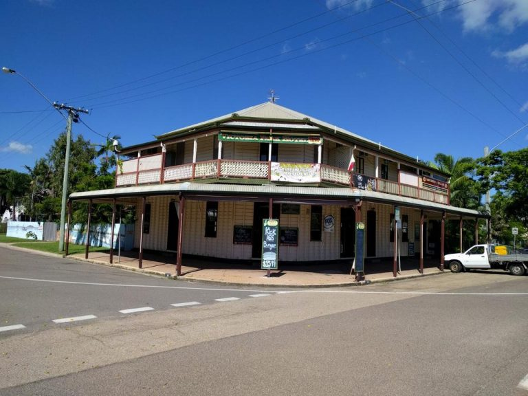 Site of fire-ravaged iconic Queensland pub listed for sale