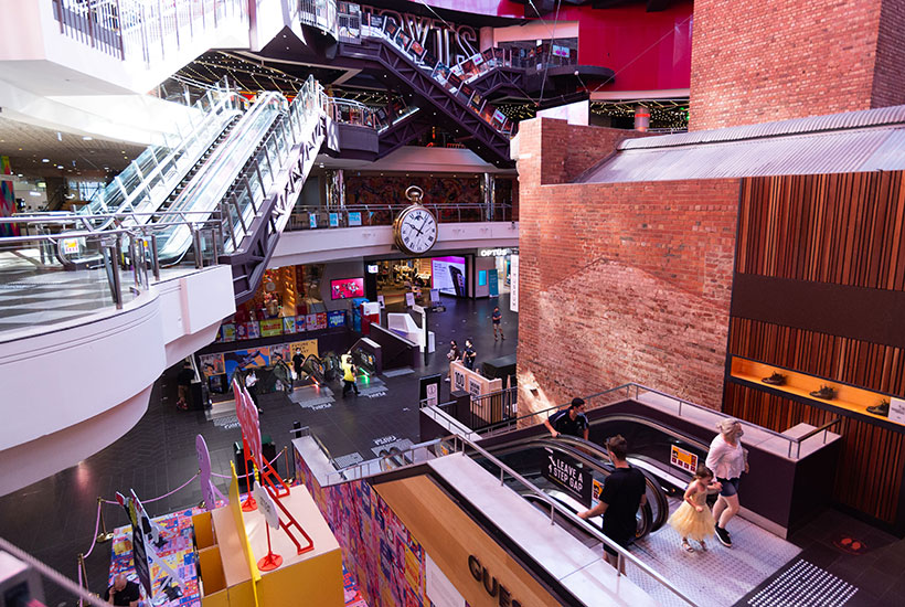 Melbourne Central's customer visitations in March 2021 were up 36% on the previous two months' average. Picture: Getty