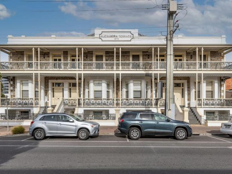 Historic Glenelg building formerly a popular backpackers listed for sale