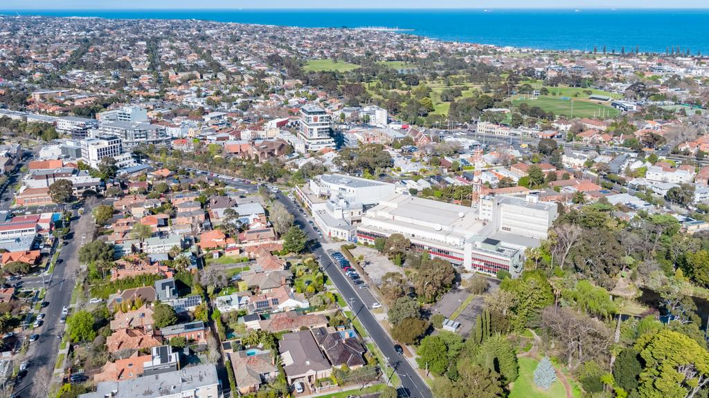 The former ABC Studios at 8 Gordon Street, Elsternwick - for herald sun real estate