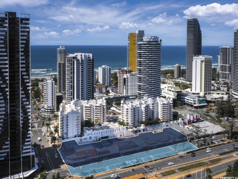 Global developers eye off Broadbeach trophy site