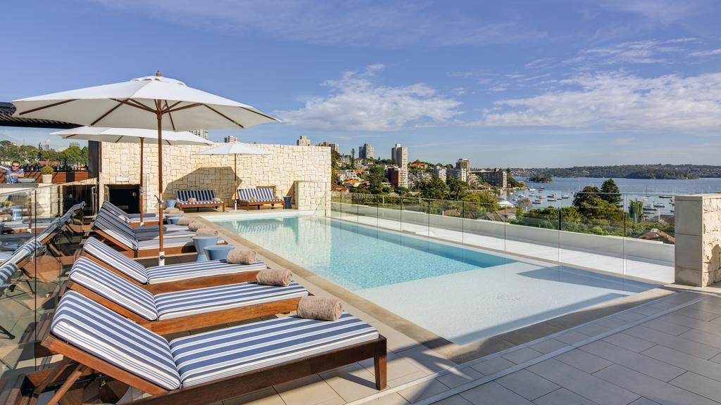Intercontinental Sydney Double Bay rooftop pool