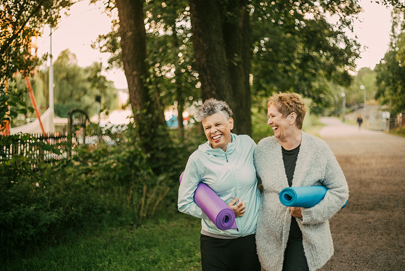 Retirees are far more active these days and want properties that help them maintain that lifestyle.  Picture: Getty