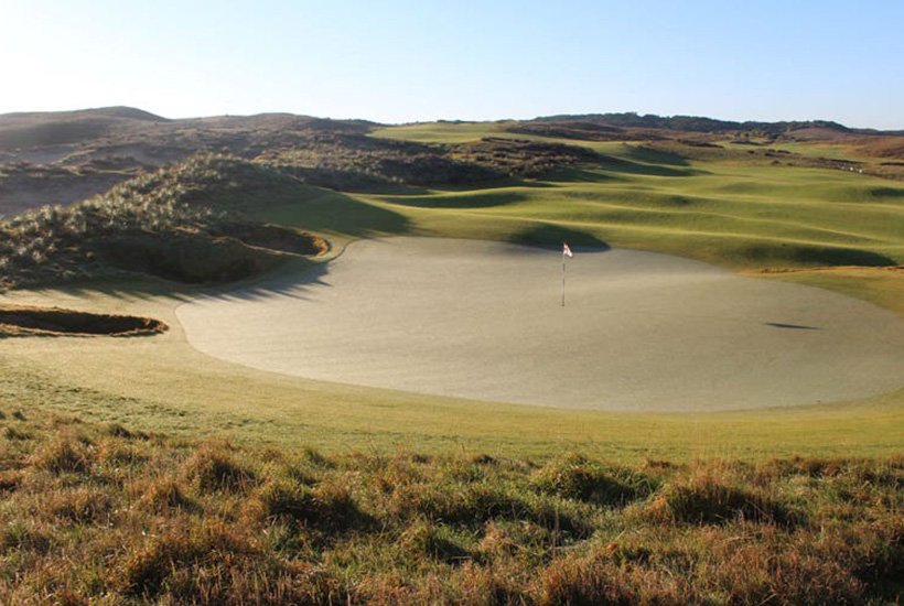 Golf courses tend to be purchased by international investors. Picture: realcommercial.com.au/for-sale
