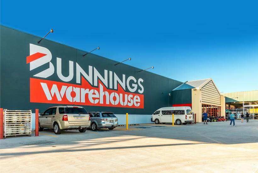 A newly-opened Bunnings headlines the $210 million Burgess Rawson portfolio auction. Picture: realcommercial.com.au/for-sale