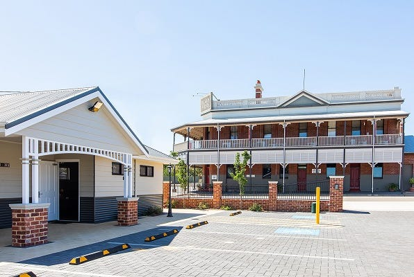 The historically significant pub has been extensively renovated. Image: realcommercial.com.au/for-sale