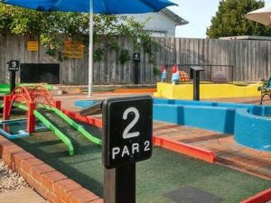 Lakes Entrance Mini Golf tees off for sale, could be developed as a home