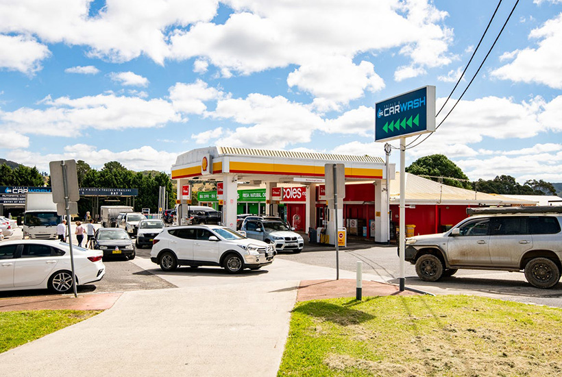 Service stations are seen as pandemic proof by many investors as they trade through lockdowns. Picture: realcommercial.com.au/for-sale