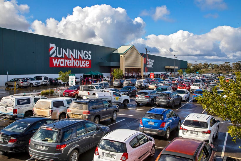 Private and institutional investors have been targeting Bunnings assets during the pandemic. Picture: realcommercial.com.au/for-sale