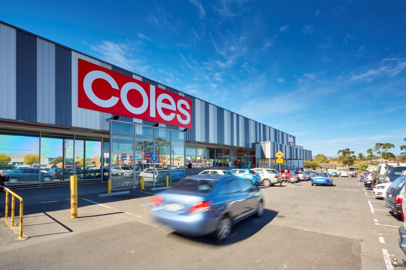 Private investors are targeting supermarkets, Bunnings and neighbourhood shopping centres like Coles Morwell. Picture: Supplied by JLL