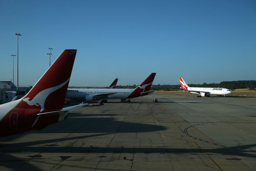 Qantas is looking to sell up to 14 hectares of land next to Sydney Airport. Picture: Getty