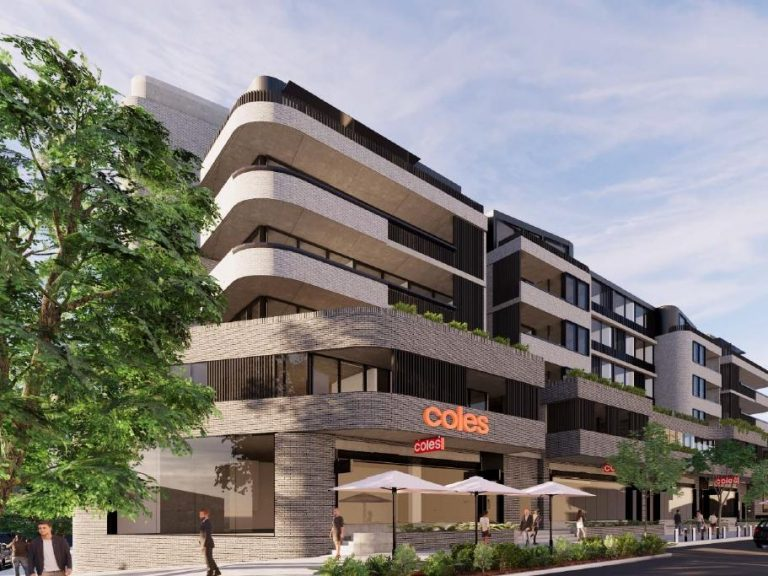 Coles lists Caringbah store with DA plans for apartment complex
