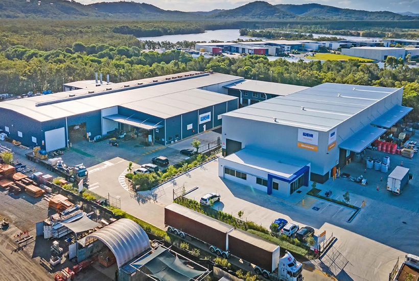 Regional industrial markets like the Sunshine Coast are doing better than capital city markets, according to Colliers.  Picture: Colliers