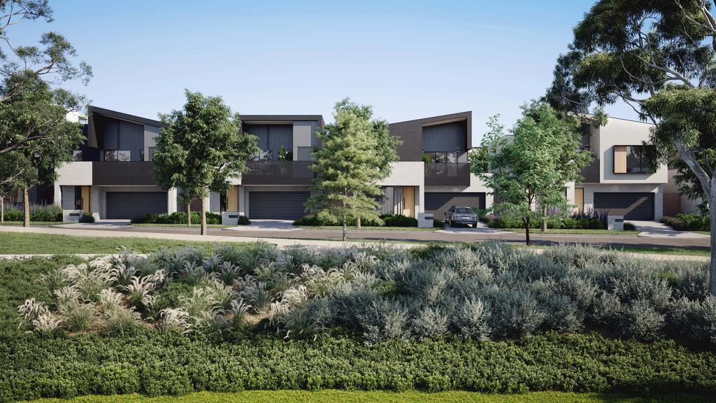 The Park Crescent release at the Burwood Brickworks sold out rapidly thanks to its sustainability features - for herald sun real estate