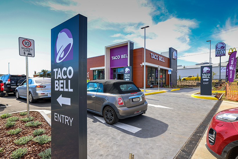 This Taco Bell outlet in Tamworth sold for $4.7 million.  Picture: Cushman & Wakefield