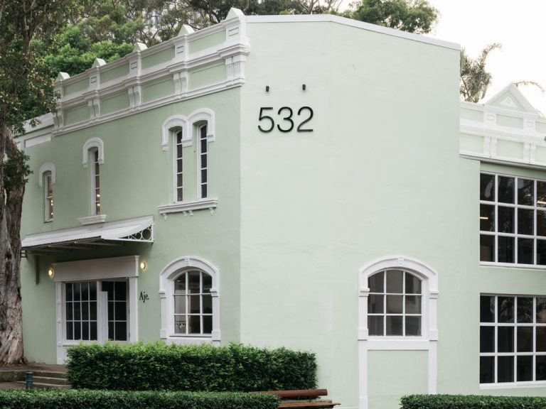 Former Porteno restaurant, reborn as AJE fashion headquarters, for auction with $13m price guide